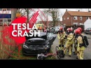 Tesla Model S Авария с большим числом пострадавших