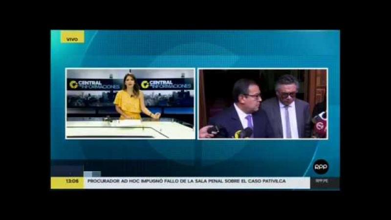 Otárola Test de idoneidad y proporcionalidad del TC no ha sido cumplido contra Humala y Heredia