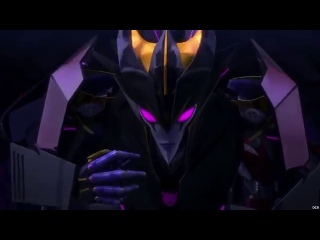 80's Soundwave Voice in Transformers Prime - Soundwave vs Arachnid