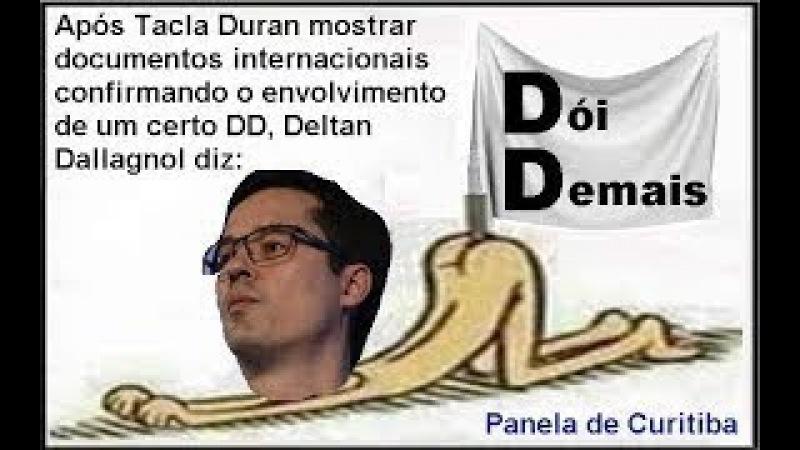 Deltan Dallagnol diz perdi os arquivos, justo o que desmascara a Lava Jato onde DD enfiou o pendrive