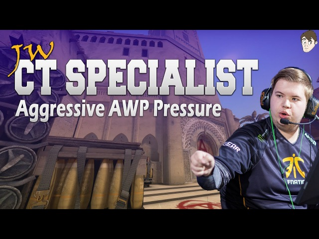 CT Specialist - JW Constant Aggressive AWP Pressure on Mirage