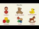 Aprender español Juguetes y juegos nivel intermedio