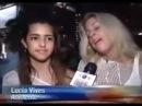 Lucy Vives en el concierto de Shakira en su ciudad Miami 2010