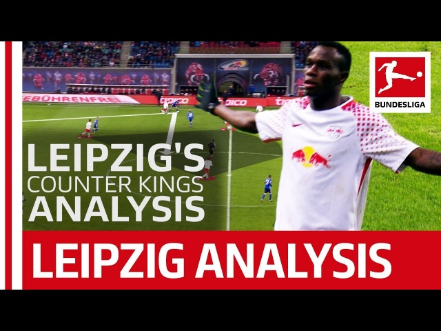 Leipzig's Counter-Attacking Football - The Analysis