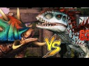 Индоминус против Гиганоцефала Jurassic World The Game прохождение на русском