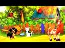 Песенки для детей. Животные на ферме. Как говорят животные. Мультфильм для самых ...
