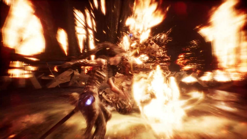 Hellblade Senuas Sacrifice Boss Battle Surt the Fire Giant