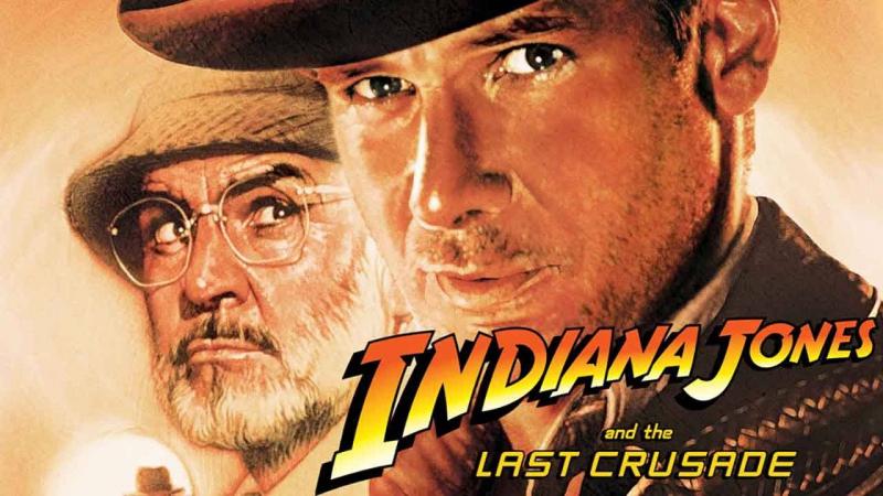 Индиана Джонс и последний крестовый поход 1989 Гаврилов VHS HD