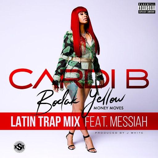 Cardi B альбом Bodak Yellow (feat. Messiah) [Latin Trap Remix]