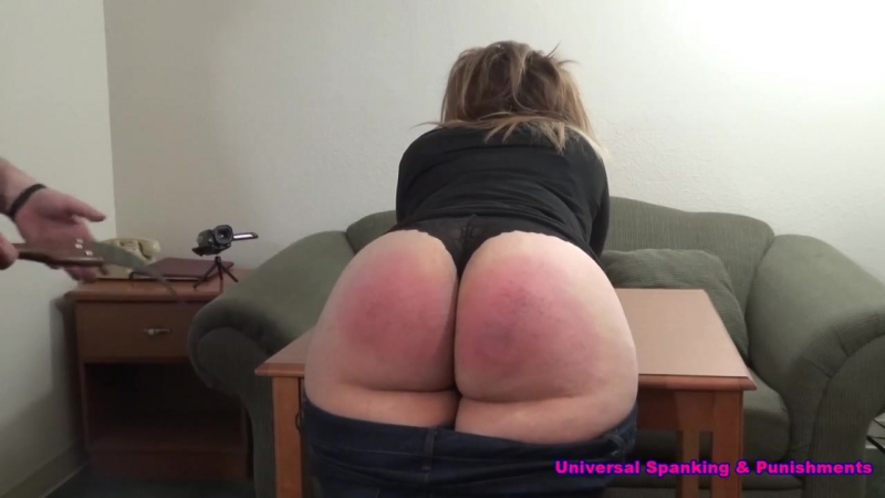 Lynn Casey Learns a Lesson Spanking