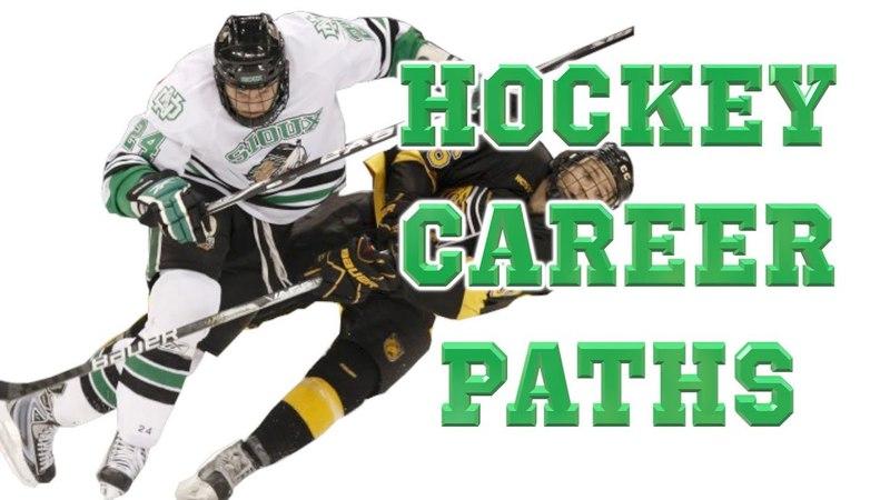 Hockey Career Paths Pee Wee to Pro AHL, CHL, ECHL, USHL, CJHL, NAHL, NCAA, USport, etc.