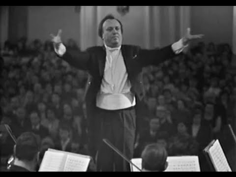 Kurt Masur conducts Beethoven Symphony no. 3, 'Eroica' - video 1972