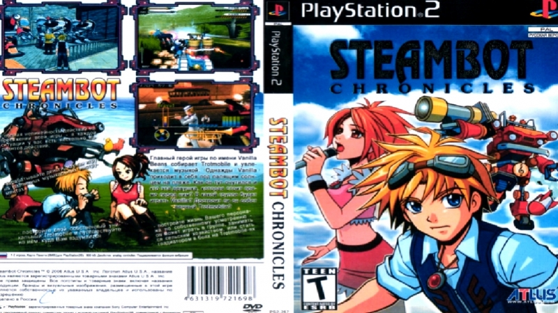 PS2Exclusive.- Steambot Chronicles [ENG|NTSC]..[PCSX2-1.5.0 DX-11 CRC-AUTO].fps50-60HD.720.p