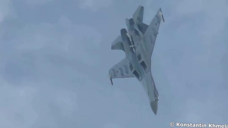 Высший пилотаж Су-35