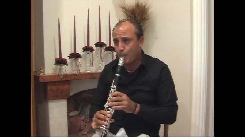 Токката и фуга ре минор. (Бах).Clarinet Prof.Massimiliano Montanaro.