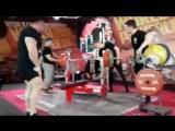 Мурад Алибегов жмёт 295 кг
