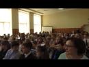 MVI_5524в школе № 109 концертная программа Аты-Баты, шли солдаты оркестра Лад