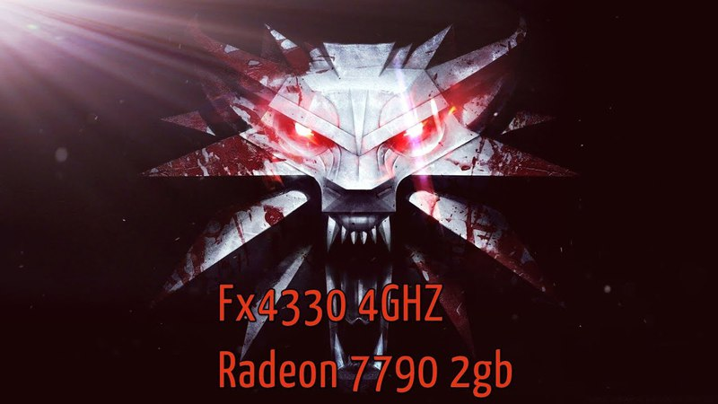 The Witcher 3 FX-4330Radeon 7790 2gb