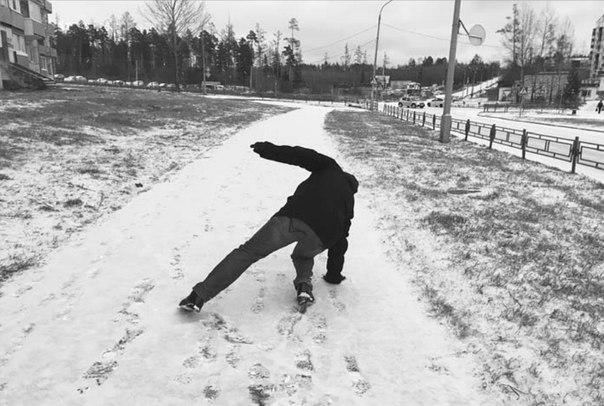 Первый снег в Усть-Илимске принёс коварные плоды
