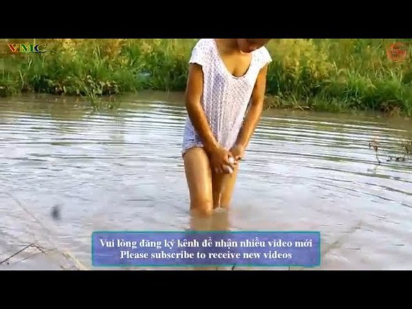 Cô gái xinh đẹp đi bắt cá - Cuộc sống quê tôi 29 | Beautiful girl to catch fish - Life in my country