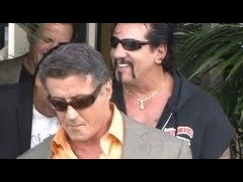HELLS ANGELS MC Sylvester Stallone and former Hells Angels member Chuck Zito get lunch