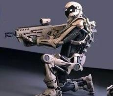 Робот умеет стрелять