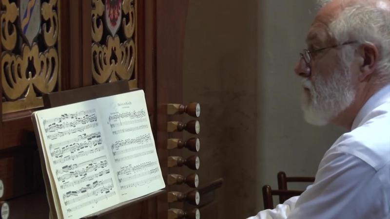 662 J. S. Bach - Chorale prelude Allein Gott in der Höh sei Ehr, BWV 662 - William Porter