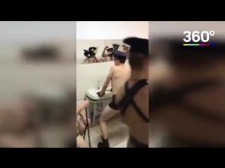 Ульяновские студенты танцуют под Satisfaction