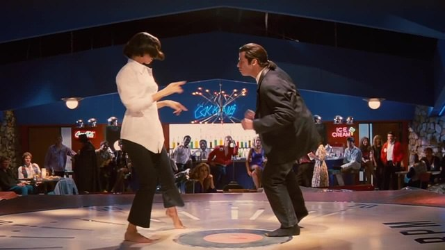Pulp Fiction / Chuck Berry - You Never Can Tell coub