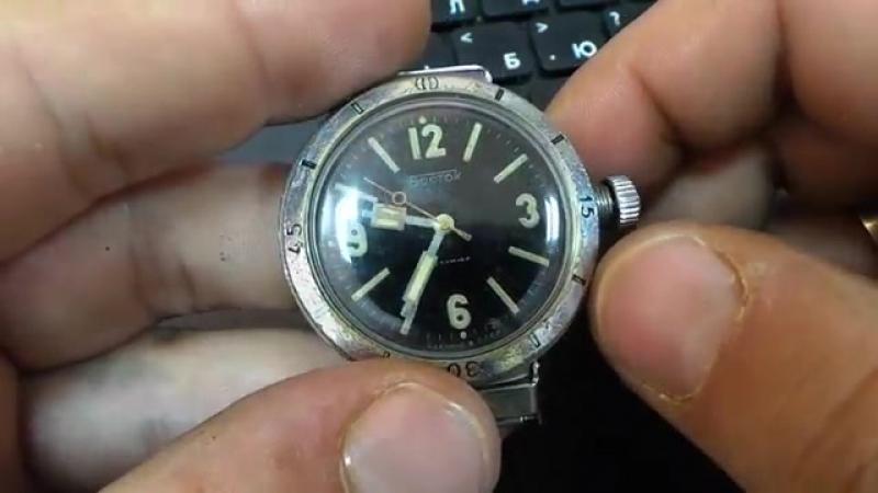 Часы Восток Амфибия 30 атм 300 метров НВЧ-30