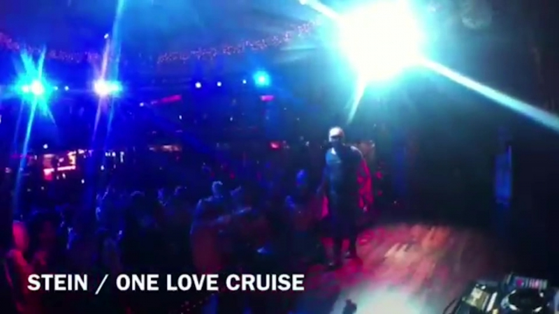 Stein live show at One Love Cruise, Sweden