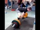 Становая тяга в стиле сумо 170кг. и 190кг. на 7 повторений