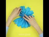 Шары из папиросной бумаги своими руками. Как большие цветы