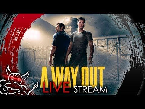 A Way Out - Ezida и Bes Бегут из Шоушенка [Стрим]