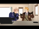 [MMD APH] America and Prussia - Stop Copying Me!!HelltaliaХеталия.