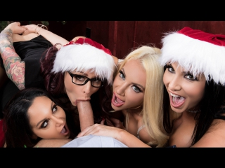 Ava addams monique alexander nicolette shea romi rain (office 4-play: christmas bonuses)