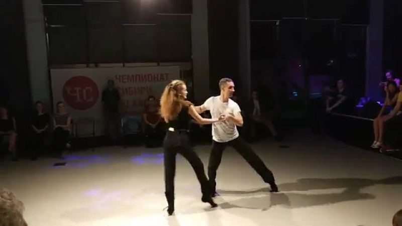 ЧС 2017 - Invitational. Сергей Хлебников - Ольга Азиатцева