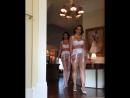Secret in lace девушки демонстрируют сексуальное винтажное нижнее белье