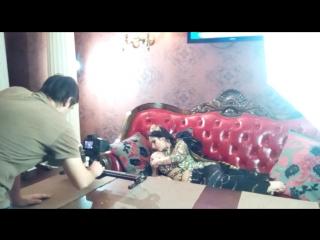 Съёмки клипа Ангелины Судаковой.