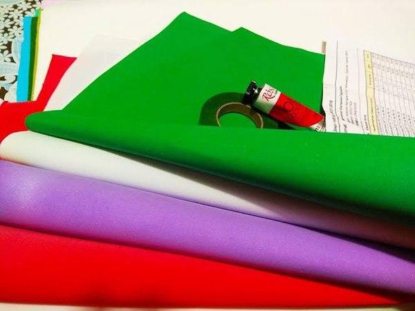 Обзор покупки материалов для творчества из интернет магазина ТМ Ворона