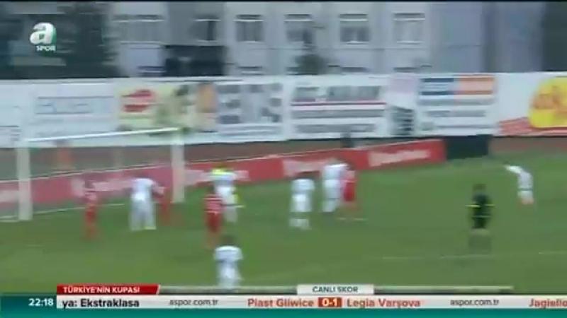 Boluspor 4 - 1 Kasımpaşa _ ZTK 5. tur rövanş _ 12.12.2017 _ A Spor _ Özet
