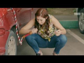 Ольга: Лена откачивает бензин