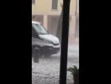 Severe hailstorm in Ponte di Barbarano, Veneto, NE Italy on Friday, Sept 1. Video: Valentina Melato