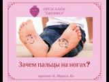 Зачем пальцы на ногах ОПРОС