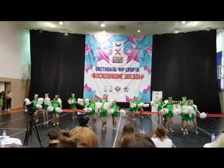 Чемпионат по чир спорту город Москва