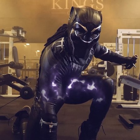 """Ulissesworld on Instagram: """"@ulisses_world Wakanda Gains Forever!🔥💪🏾 Awesome edit by @rebeccaandrewsfilms blackpanther Download my New complete e..."""