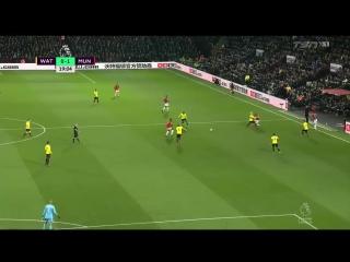 Уотфорд - Манчестер Юнайтед 2:4 видео