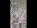 Белые розы. Свадебный букет. Букет для невесты. Товары для флористов. Флористика