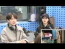 180321 Youngji и актёр Kang Sung Wook на SBS Power FM Park Sohyuns Love Game.