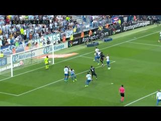 Малага 0:2 Реал. Гол Бензема
